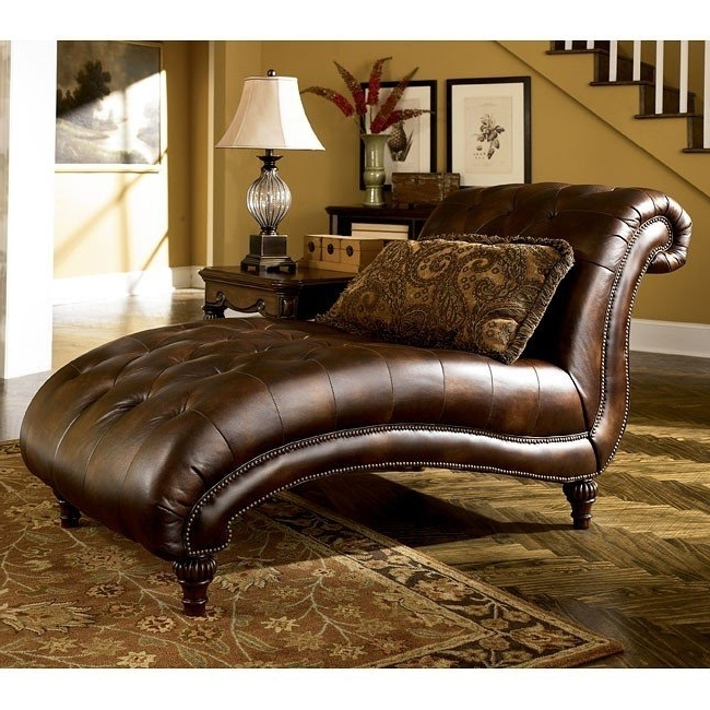 Claremore – Antique Chaise Signature Designashley Furniture Within Most Up To Date Ashley Furniture Chaises (View 8 of 15)