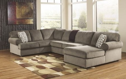 Clarksville Tn Sectional Sofas For Popular Ashley Jessa Place Dune Sectional With Chaise Appliances (View 4 of 10)