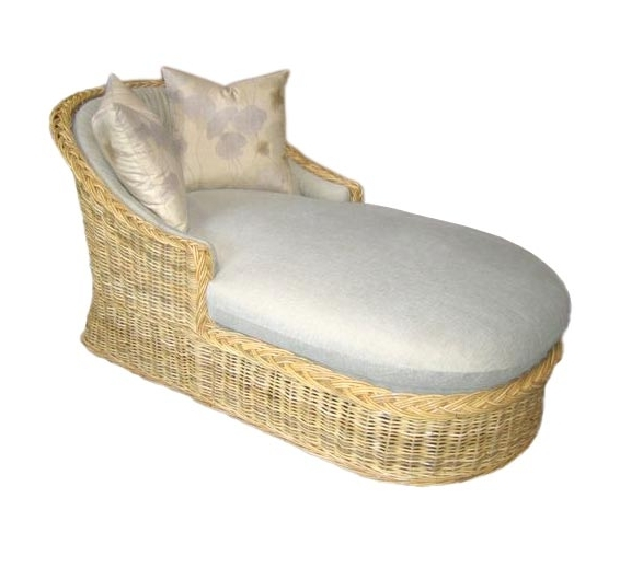 Classic Chaise Lounge : Lounge Chairs : Style : Indoor Furniture With Favorite Wicker Chaise Lounges (View 15 of 15)