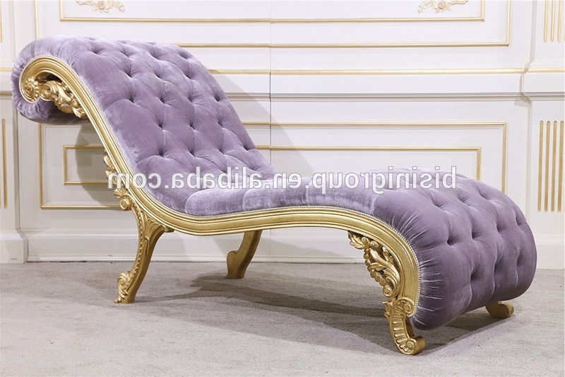 Classical Art Design Baroque Chaise Lounge, High End Luxury Indoor With Best And Newest Vintage Indoor Chaise Lounge Chairs (View 5 of 15)