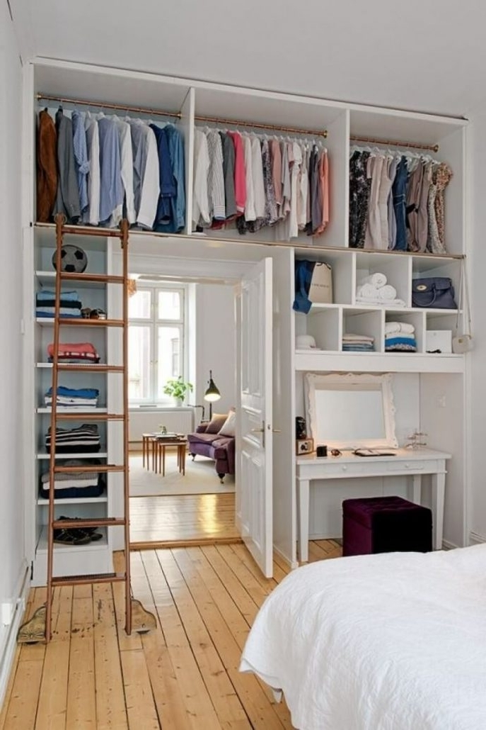 Closet Storage : Clothing Storage Ideas No Closet Storage For Intended For Popular Bedroom Wardrobes Storages (View 8 of 15)