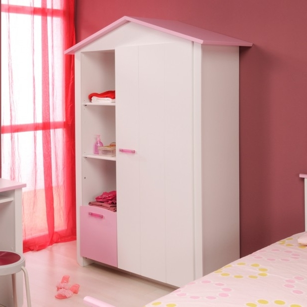 Closets: Kids Wardrobes Models For Girls, Matching Stickers Throughout Widely Used Girls Wardrobes (View 14 of 15)