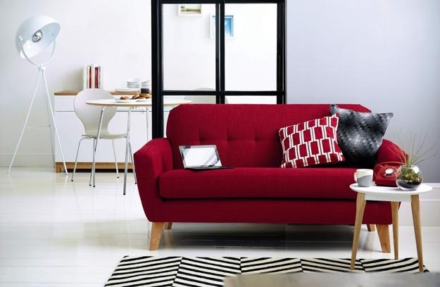 Colorful Sofas And Chairs Within Well Known Modern Living Room Furniture Spicing Up Home Decor (View 6 of 10)