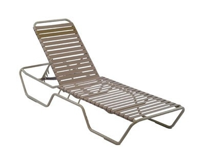 Commercial Furniture Usa – Premium Vinyl Strap Aluminum Pool In Trendy Commercial Outdoor Chaise Lounge Chairs (View 3 of 15)