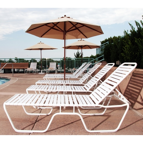 Commercial Pool Furniture For Hotels, Resorts And Public Pools Inside Well Known Hotel Pool Chaise Lounge Chairs (View 1 of 15)