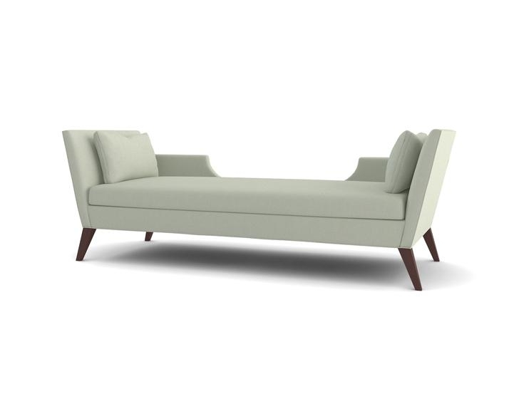 Contemporary Chaise Lounges With Regard To Well Known Sandra Napper Double Gray Contemporary Chaise (View 8 of 15)