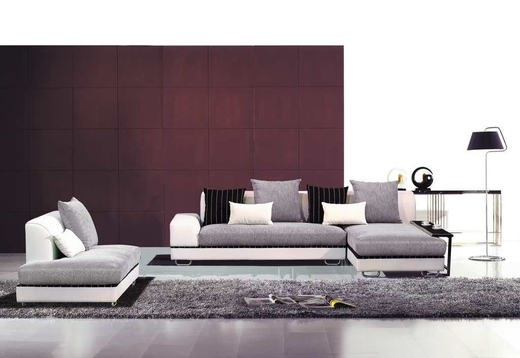 Contemporary Fabric Sofas Within Most Current Fabric Sectionals, Modern Living Room – Contemporary Fabric (View 3 of 10)