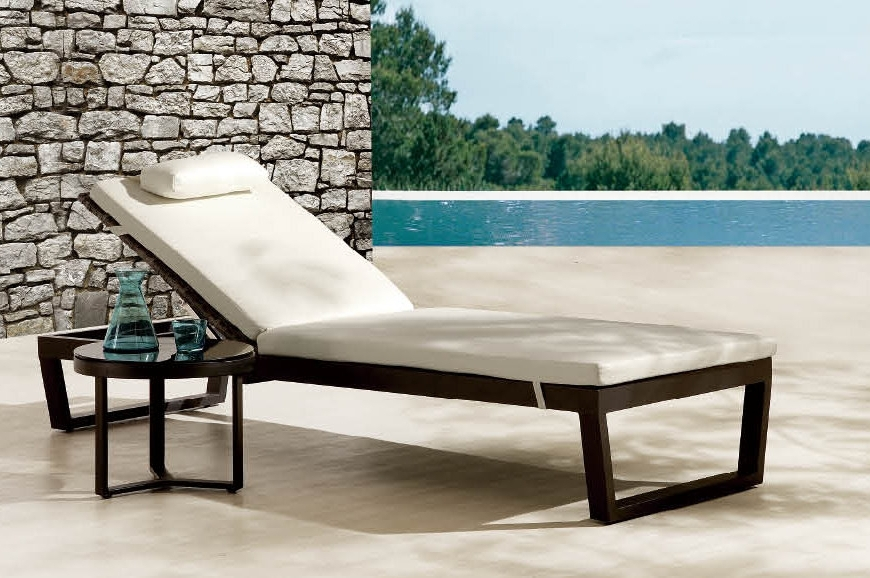 Contemporary Outdoor Chaise Lounge Chairs Intended For Famous Innovative Wicker Pool Lounge Chairs Pool Lounge Chair Dimensions (View 6 of 15)