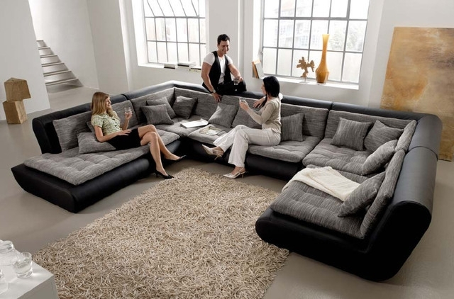 Contemporary Sectional Sofas Throughout Best And Newest Modern Modular Sectional Sofa – Dixie Furniture (View 3 of 10)