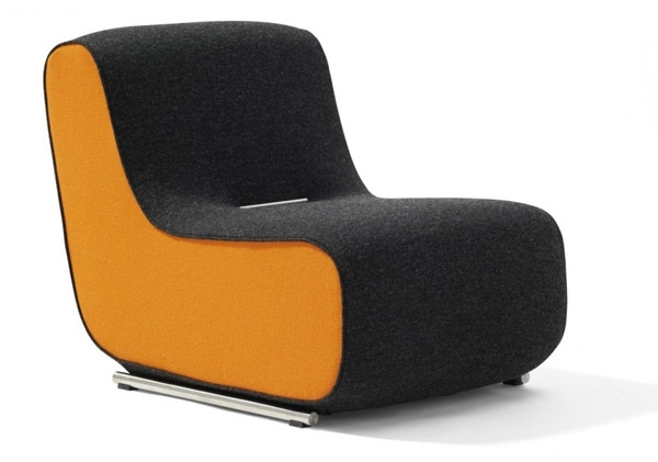 Photo Gallery of Contemporary Sofa Chairs (Showing 6 of 10 ...