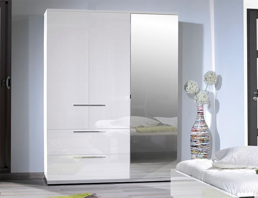 Contemporary Wardrobe Furniture, Sciae Sunrise Ntemporary High Pertaining To Widely Used High Gloss White Wardrobes (View 6 of 15)