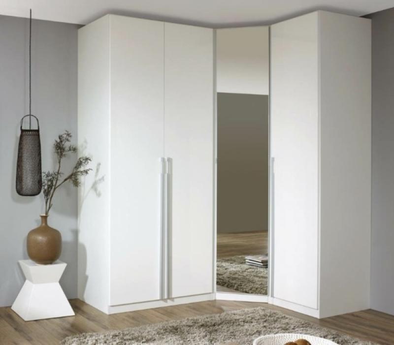 Corner Mirrored Wardrobe Corner Wardrobe – Practical And Modern Regarding Widely Used Corner Mirrored Wardrobes (View 4 of 15)