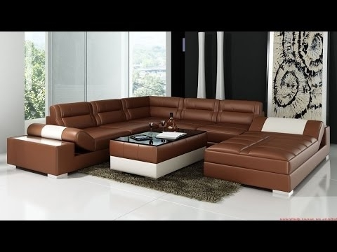 Corner Sofas Leather – Youtube With Regard To Popular Leather Corner Sofas (View 2 of 10)