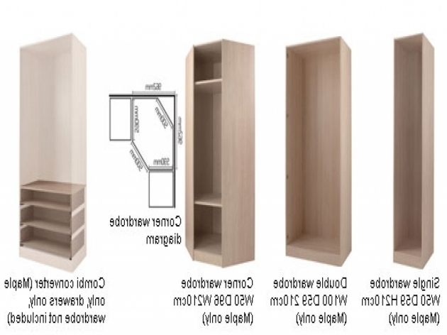 Corner Wardrobe Closet Small Bedroom Fitted Wardrobes Dimension Regarding Most Up To Date Small Corner Wardrobes (View 6 of 15)