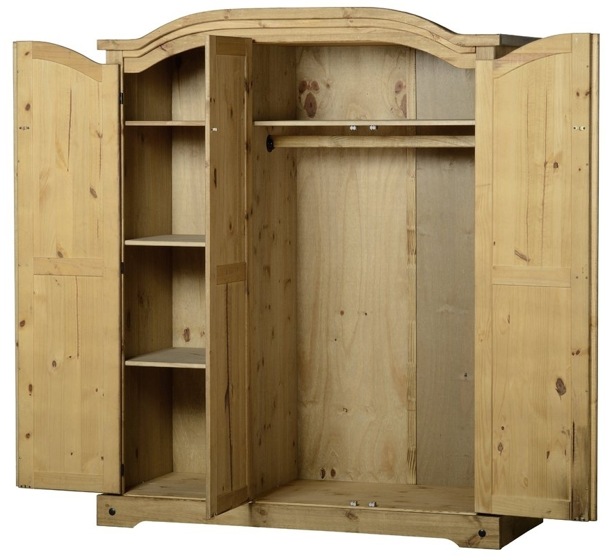 Featured Photo of Corona 3 Door Wardrobes