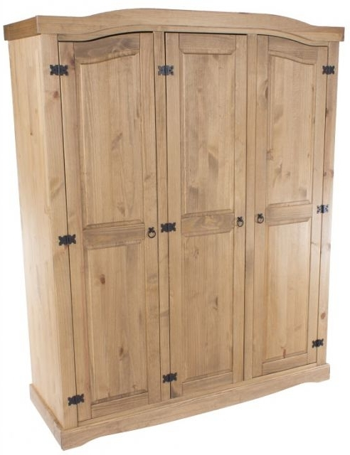 Corona 3 Door Wardrobes Throughout Newest Core Products Core Corona 3 Door Wardrobe – Wardrobes – Fit And (View 5 of 15)