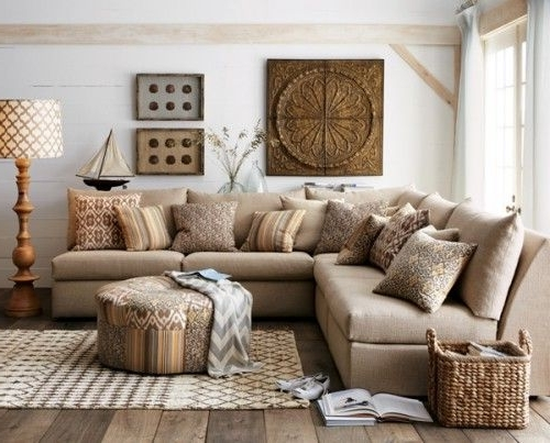 Cottage Style Sofas And Chairs For Newest Cottage Style Couches Cottage Sofas And Loveseats Brown Sofa With (View 4 of 10)