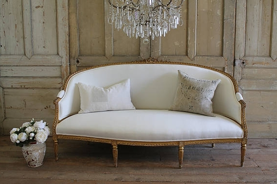 Country French Style Sofa – Hymns And Verses Intended For Latest French Style Sofas (View 1 of 10)