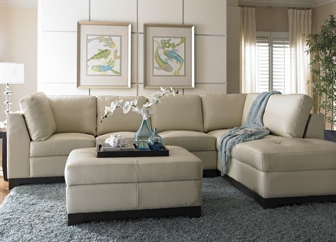 Cream Colored Sofas With Regard To 2017 Amazing Colored Leather Sofas Rochester Ivory Within Cream Color (View 6 of 10)