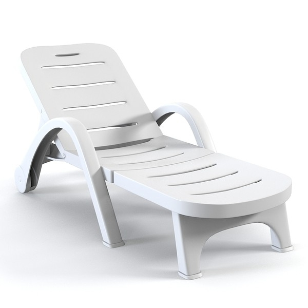 Creative Of Plastic Chaise Lounge Beach Chaise Lounge Chair Intended For Well Known Beach Chaise Lounge Chairs (View 10 of 15)