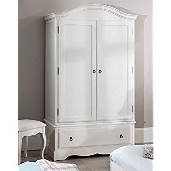 Current Antique White Wardrobes Regarding Juliette Shabby Chic Antique White Double Wardrobe (View 6 of 15)