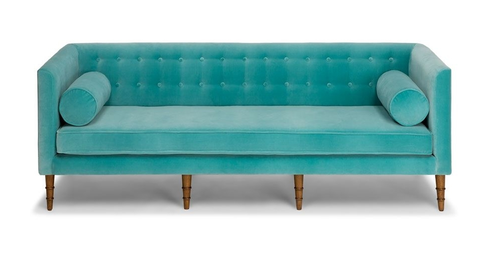 Current Aqua Sofas For Celosia Oahu Aqua Sofa (View 8 of 10)