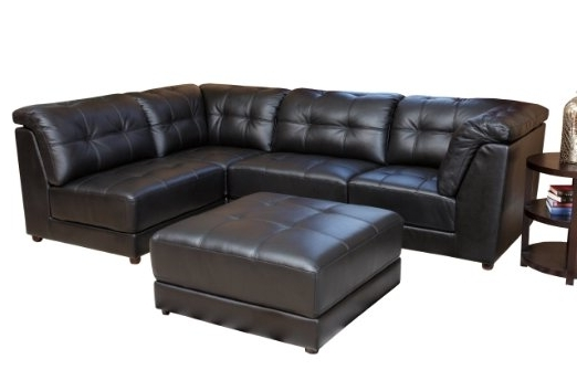 Current Awesome Black Leather Modular Sectional Gallery – Liltigertoo With Leather Modular Sectional Sofas (View 4 of 10)