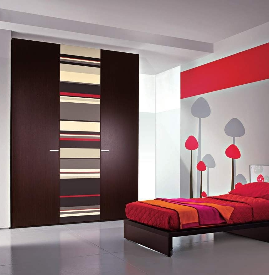 Current Bedroom Wardrobe Interior Designs – Interior4You In Bed And Wardrobes Combination (View 7 of 15)