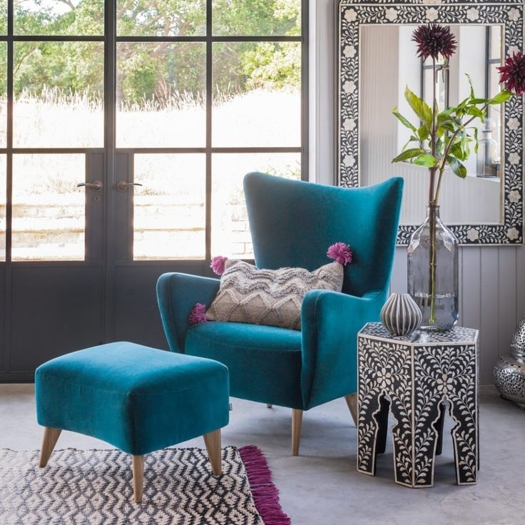 Current Blue Sofa Chairs Within Elegant Sofa Chairs For Living Room Best 25 Teal Chair Ideas On (View 7 of 10)
