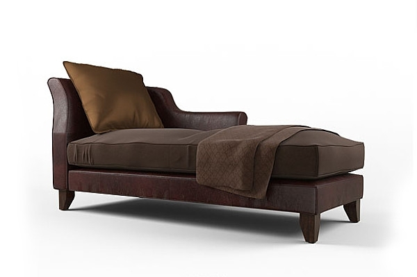 Current Brown Chaise Lounges Pertaining To Alluring Leather Chaise Lounge Chair Brown Chaise Lounge Facil (View 5 of 15)