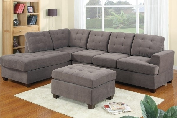 Current Chaise Lounge Sectionals Regarding Stylish Sectional With Chaise Lounge Modern Gray Sectional Sofas (View 11 of 15)