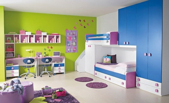 Current Cute And Colorful Children's Bedroom Furniture Sets For Childrens Bedroom Wardrobes (Gallery 12 of 15)