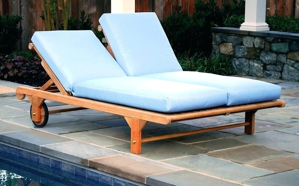 Current Double Outdoor Chaise Lounges For Outdoor Double Chaise Lounge Unique Double Chaise Lounge Outdoor (View 3 of 15)