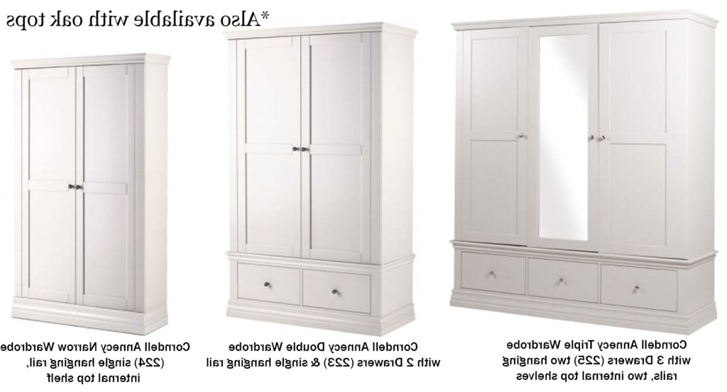 Current Double Rail Oak Wardrobes In Englishman's Castle Corndell Bedroom Furniture, Bedroom Furniture (View 6 of 15)