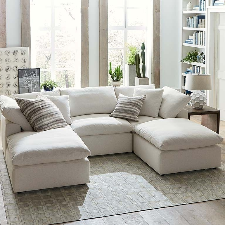 Current Envelop Small Double Chaise Sectional (View 5 of 15)