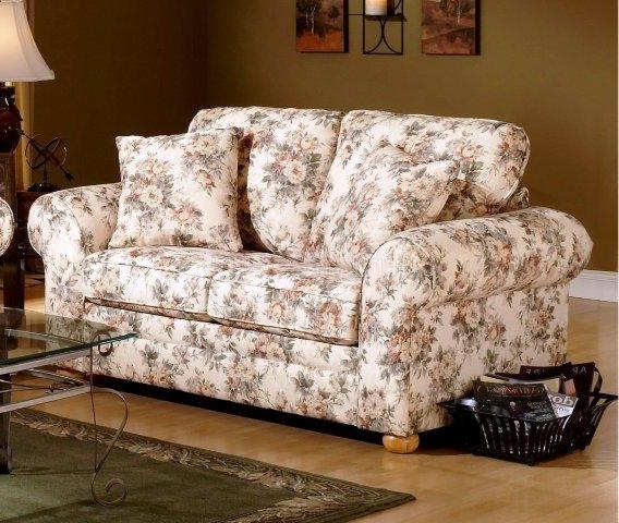 Current Floral Sofas And Chairs Pertaining To 12 Floral Pattern Sofa Designs – Rilane (View 2 of 10)