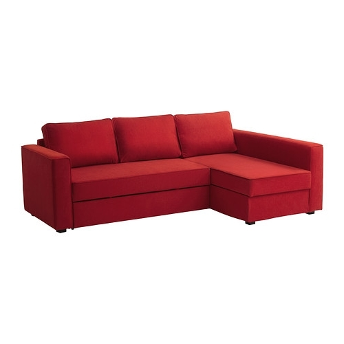 Current Ikea Manstad Sofa Bed In Red, Black And Green ? – Comfort Works Throughout Manstad Sofas (View 3 of 10)