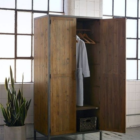 Current Industrial Style Wardrobe 2 – Hulta Design Pertaining To Industrial Style Wardrobes (View 5 of 15)