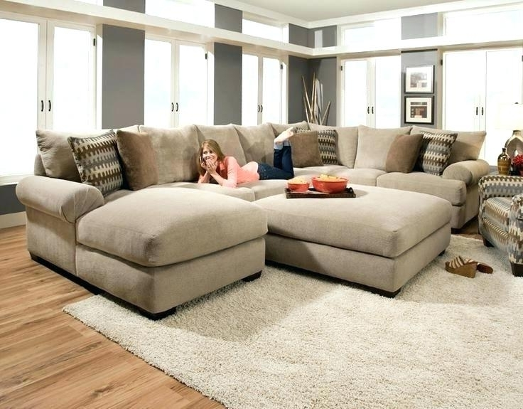 Current Inspirational Oversized Couch Pillows Or Oversized Couch Throw Within Sofas With Oversized Pillows (View 4 of 10)