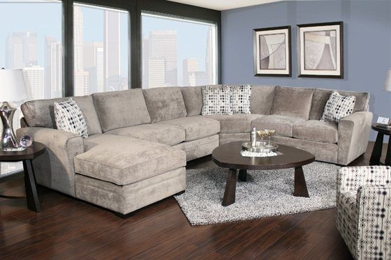 Current Kanes Sectional Sofas With Regard To Kane's Furniture – Poseidon 4 Piece Chaise Sectional (View 2 of 10)