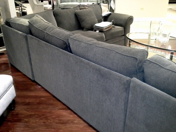 Current Macys Sectional Sofas Throughout Buying Macy's Devon Fabric Sectional Sofa (View 2 of 10)