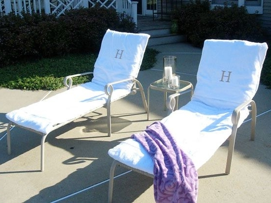 Current Make Your Own Lounge Chair Covers Out Of Towels (View 5 of 15)