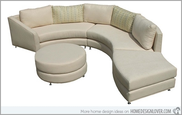 Current Modern Curved Sofa » Looking For Curved Sectional Sofa Modern Regarding Hickory Nc Sectional Sofas (View 3 of 10)