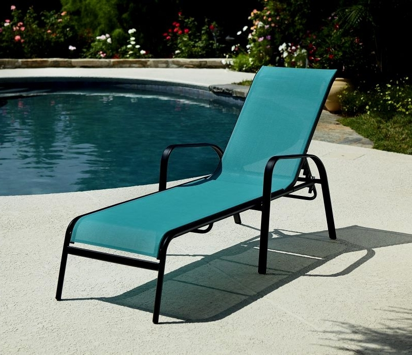 Current Outdoor Chaise Lounge Chairs Under $100 For Latest Outdoor Chaise Lounge Chairs Under $100 Inspiration (View 3 of 15)