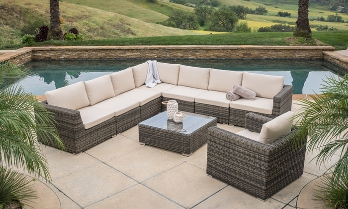 Current Outdoor Sofa Sectional Set (View 2 of 10)