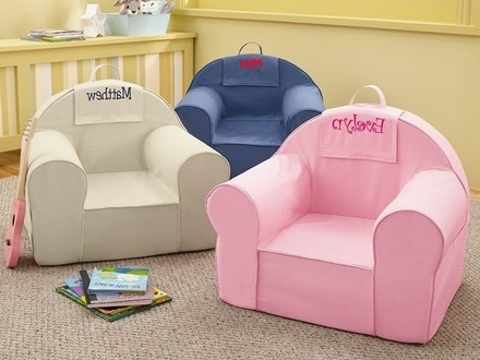 Current Personalized Kids Chairs And Sofas Intended For 54 Personalized Kids Chairs Sofas, Kid#039;s Sofa W/boxed Skirt (View 2 of 10)