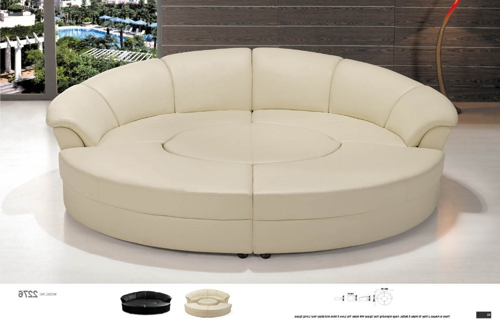 Current Rounded Corner Sectional Sofas Regarding Round Corner Sofa Round Leather Sofa Round Sectional Sofa  In (View 3 of 10)
