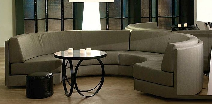Current Semicircular Sofas In Semicircular Sofa / Contemporary / Fabric / 7 Seater And Up (View 3 of 10)