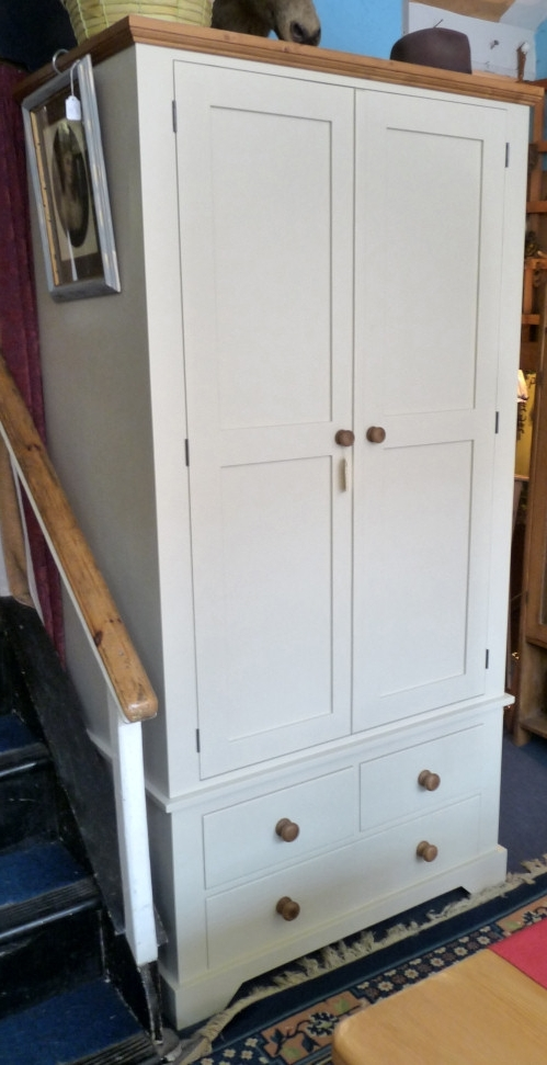 Current Single Pine Wardrobes With Drawers Within Hotwells Pine – Wardrobes (View 3 of 15)