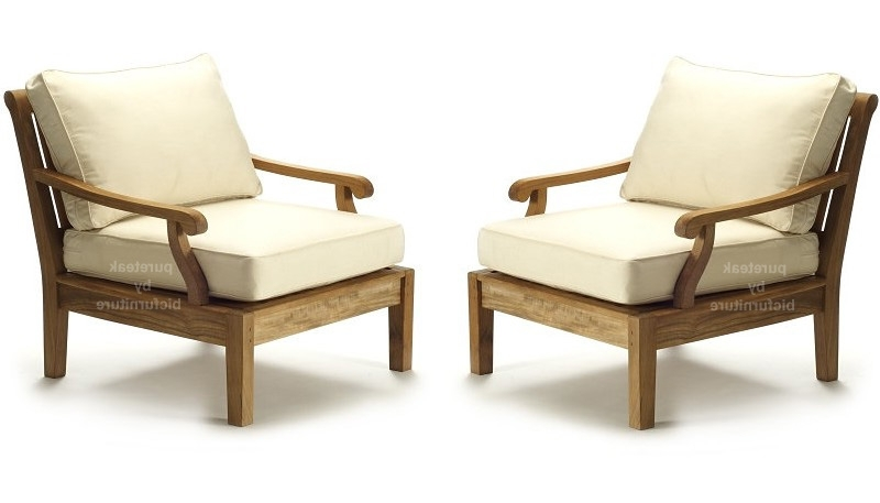 Current Sofa With Chairs With Regard To Teakwood Chairs Made With Round Arms On Both Sides (View 3 of 10)